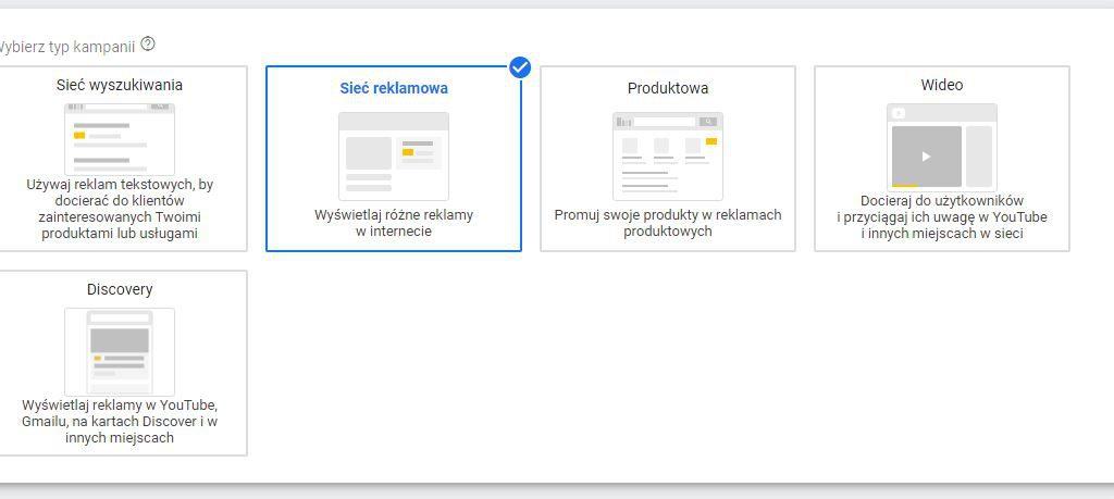 sieć reklamowa gmail adwords